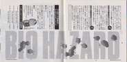 Fate of Raccoon City Vol.3 booklet - pages 26 and 27