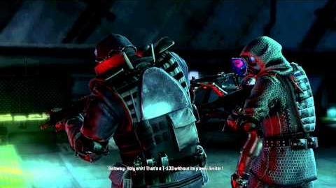 Resident Evil Operation Raccoon City all cutscenes - Super Tyrant (Beltway)