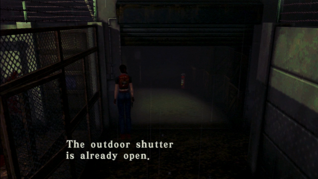 File:Resident Evil CODE Veronica - square in front of the guillotine - examines 06.png