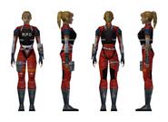 Resident Evil 2 - Elza Walker RPD armor model