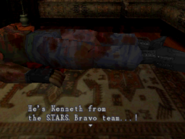 Resident Evil - Kenneth's body examination 01