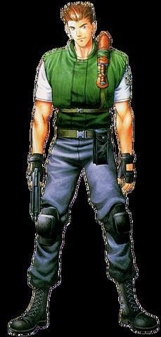 File:Resident Evil - Chris Redfield alpha.png