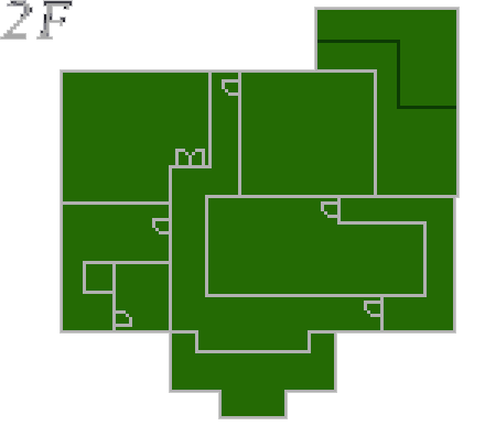 File:Resident Evil 2 prototype - Police Station map - 2F.png