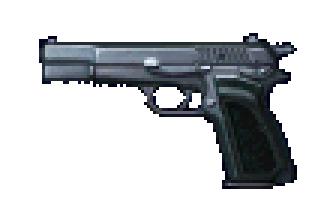File:Resident Evil 2 - Browning HP Handgun menu image (BIOHAZARD 2 Trial Edition) alpha.png
