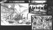 BIO HAZARD 2 proto concept art - Unused Spencer Mansion concept - re201