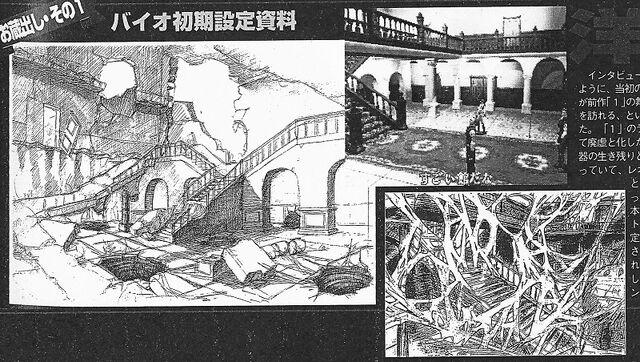 File:BIO HAZARD 2 proto concept art - Unused Spencer Mansion concept - re201.jpg