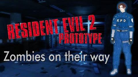 Resident Evil 2 Protototype (1.5) Let's try the path finder
