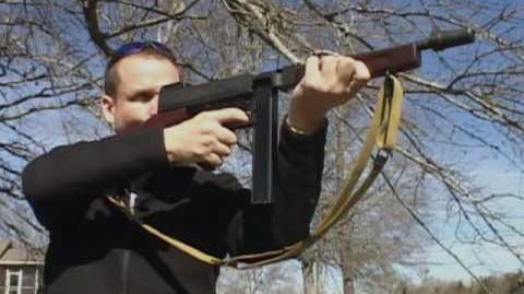 Thompson Submachine Gun Montage