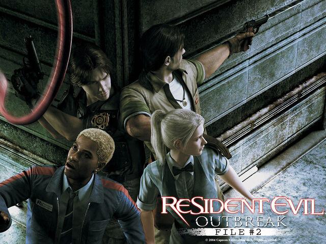 File:Resident evil outbreak file 2 2004-Wallpaper.jpg