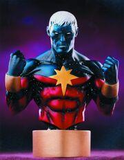 Captain marvel modern bust