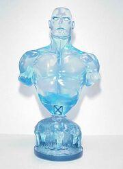 Clear Iceman bust