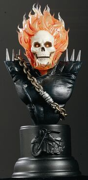 Ghost Rider Bust