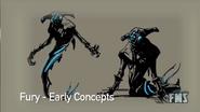 Fury concept art