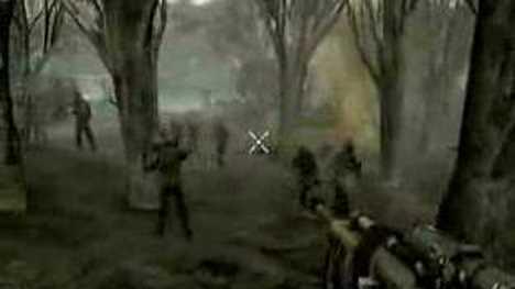 Resistance 1 Gameplay - Beta version