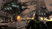 Resistance 2 Chimeran Fleet