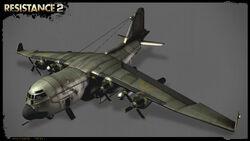 R2 cargo plane render psd jpgcopy