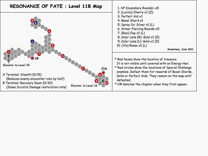 Level 11B - Map