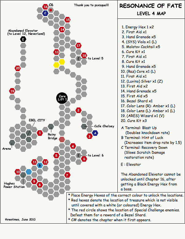 Level 4 - Map