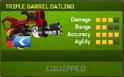Triple Barrel Gatling