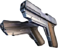 Dual Pistols Cutted