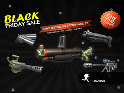 Fan's Choice Weapons Pack 2 load page