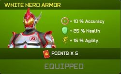 White Hero Armor