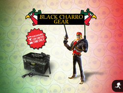 Black Charro Gear load