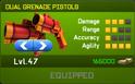 Dual Grenade Pistols