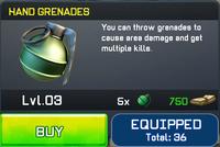 Hand Grenades View