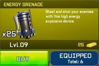 Energy grenade cut