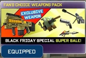 Fan's Choice Weapons Pack View