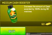 Medium Cash Booster