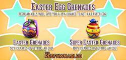 Easter Grenades