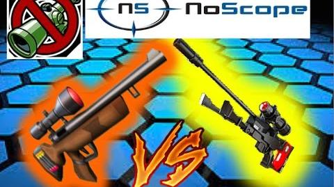 The Respawnables Sniper No-Scope Challenge with the DMR-003 and Hunter rifle!!!