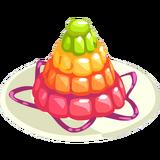 Rainbow Jelly Tower