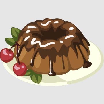 Clipart Pictures Of Bundt Cakes : Image - Bundt Cake.png Restaurant City Wiki Fandom ...