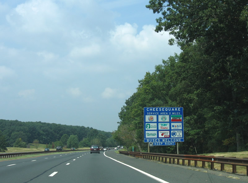 new jersey garden state parkway cheesequake rest stops