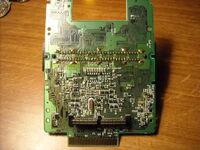 Famicom Modem inside back