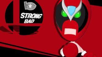 Smash Bros Lawl Beatdown Character Moveset- Strong Bad