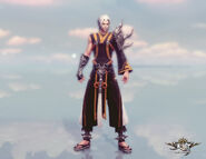 Blademaster Coustume (lv49) Front View