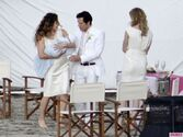 Revenges-Emily-VanCamp-Gabriel-Mann-and-Nick-Wechsler-Shoot-Seaside-White-Wedding-7-580x435