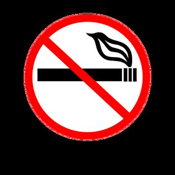 No smoking signsvg