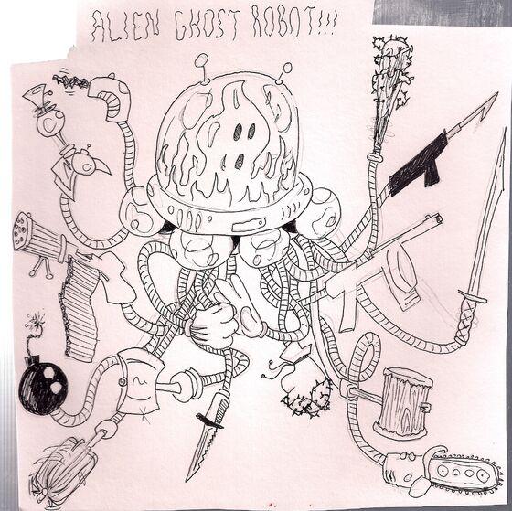 Alienghostrobot