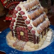 Meat-gingerbread-house