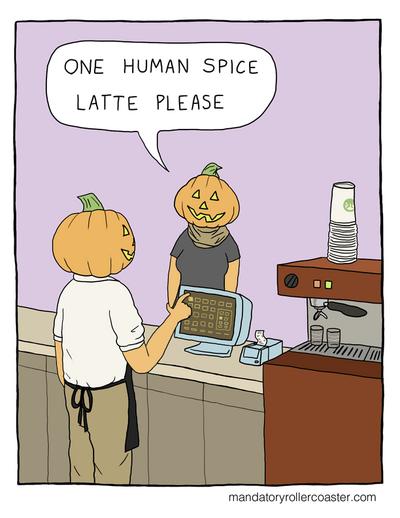 Humanspicelatte