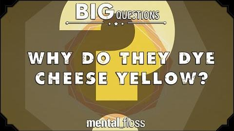 Why do they dye cheese yellow? - Big Questions (Ep