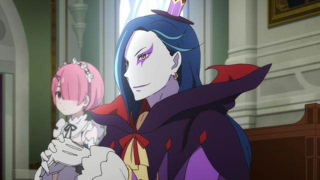 File:Roswaal and Ram - Re Zero Anime BD - 1.png