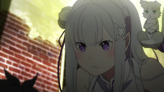 File:Emilia and Pack - Re Zero Anime BD - 2.png