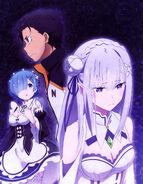 Re Zero Newtype Poster 1