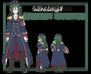 Crusch Karsten Anime Character Art